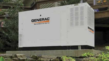 Generac generator installed by Power Bound Electric LLC.