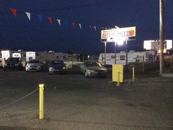 Apache Junction Auto Sales Outdoor LED Parking Lot Lights Installed