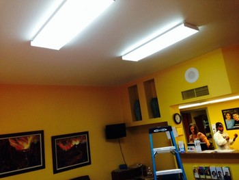 Lighting Install at Bright Now Dental in Green Valley, AZ