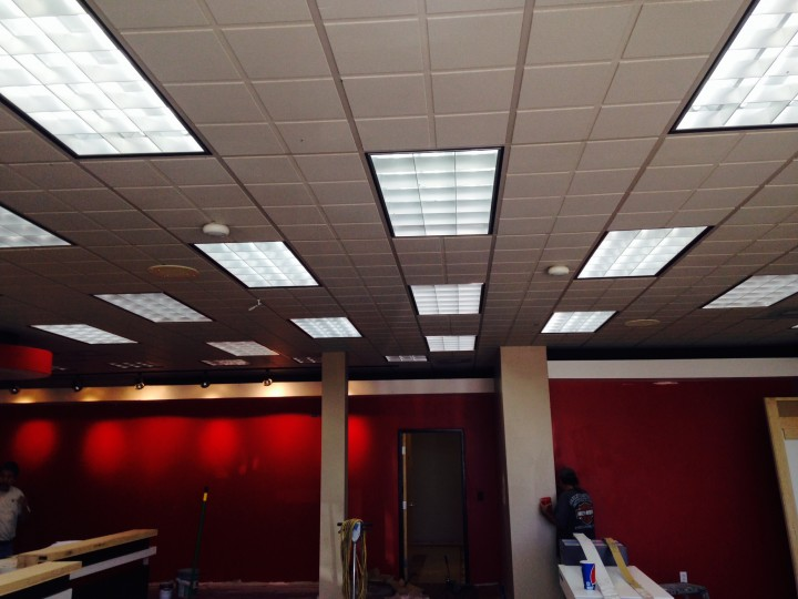 During Electrical Remodel Construction at Verizon in Tucson, AZ