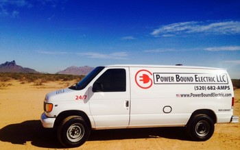 Electrical service by Power Bound Electric LLC.
